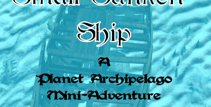 A Small Sunken Shipwreck