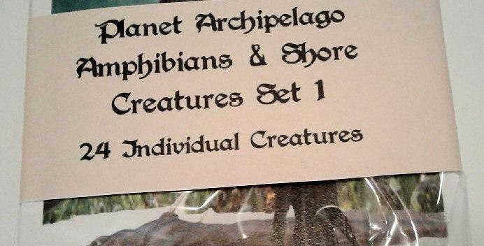 Planet Archipelago Amphibians & Shore Creature Set 1