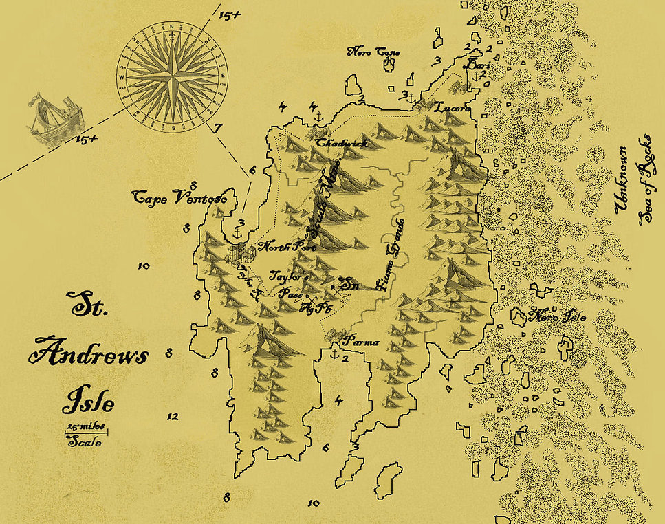 St. Andrew's Isle map parchment.jpg