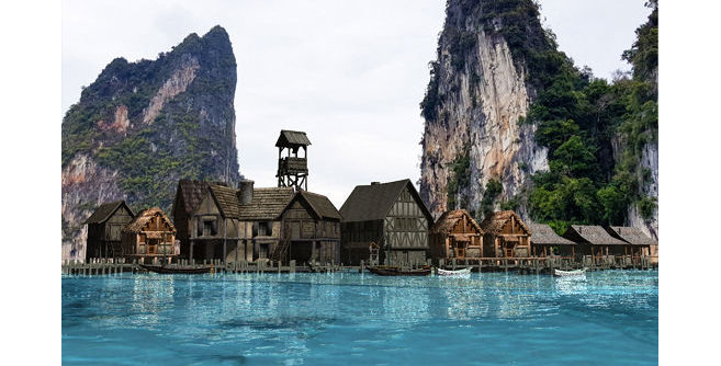 Port lake & Lakeside Atlas and Adventure Setting
