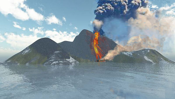 aelang isle and mt Doom from hell fire b