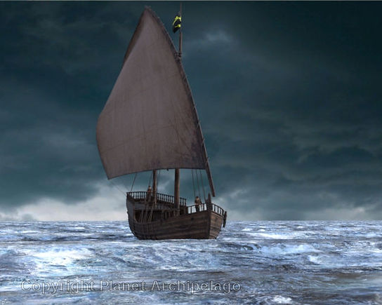 Aruth Small caravel after the storm crop