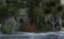 submerged ruins Wraith isle north shore.