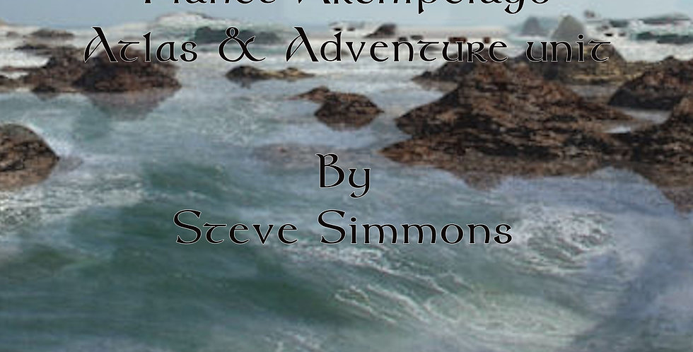 The Sea of Rocks; A Planet Archipelago Atlas and Adventure unit