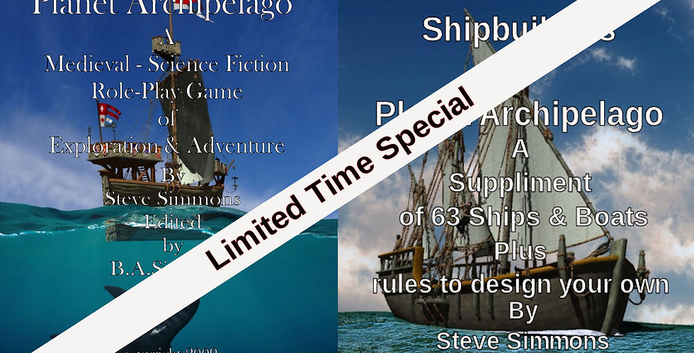 New Basic Rules & Shipbuilders of Planet Archipelago