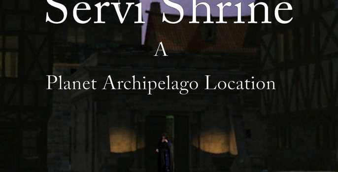 The Servi Shrine a Planet Archipelago Suppliment