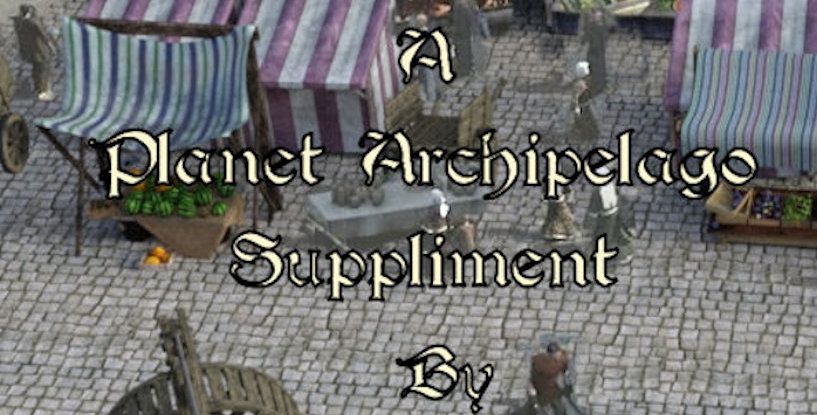 The Farmer's Market A Planet Archipelago suppliment (Download)