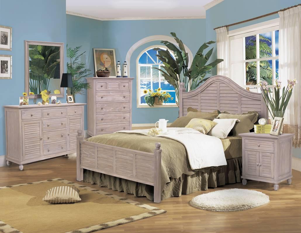 Tortuga Rustic Driftwood Bedroom