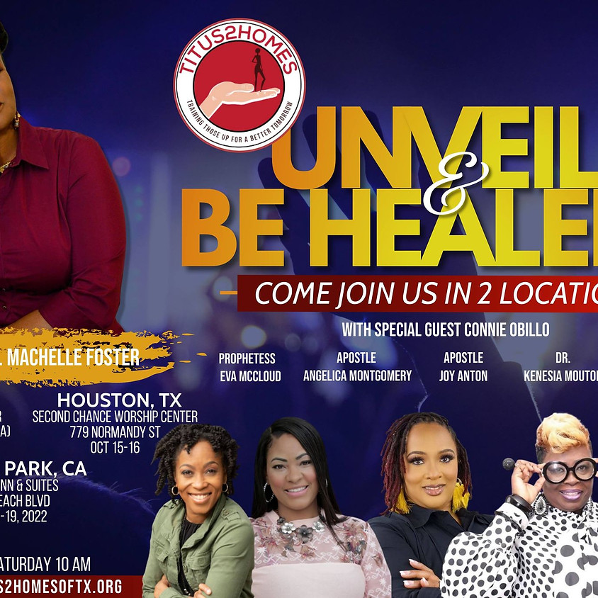 Unveil & Be Healed