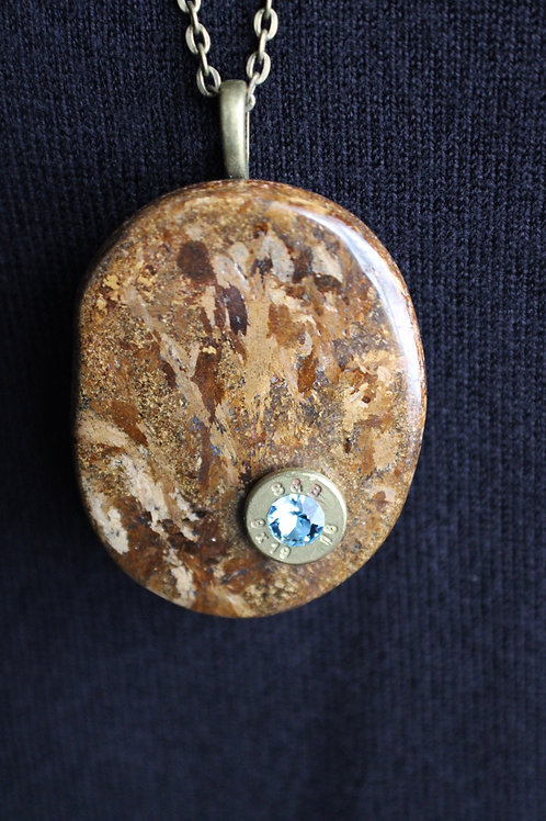 9mm Bronzite Necklace