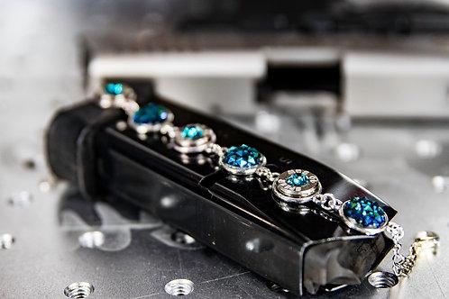 40 Caliber Primer Slice Bracelet