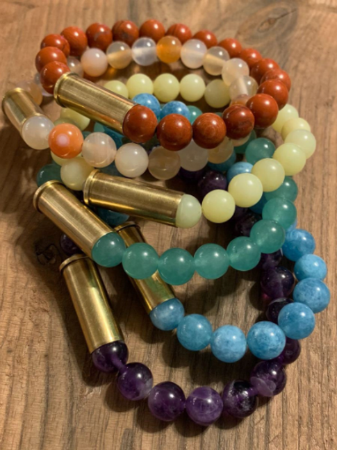 32 Caliber Gemstone Bracelet