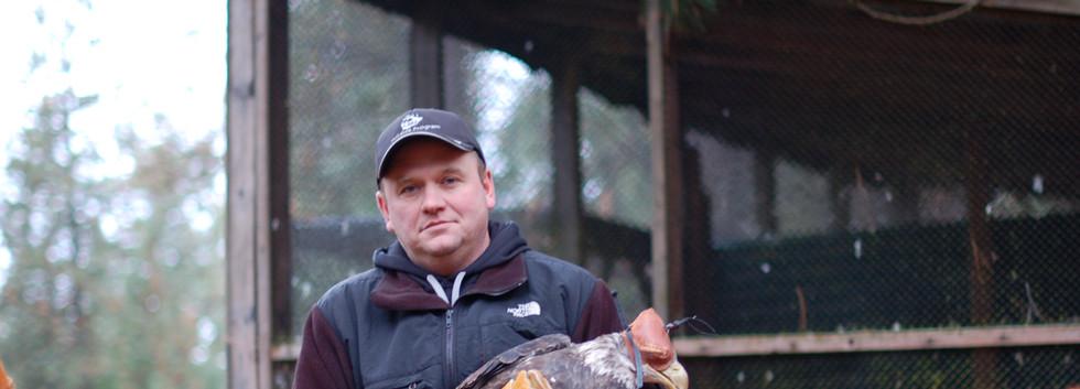 Biologist Nate Albrecht with the CDA Tri