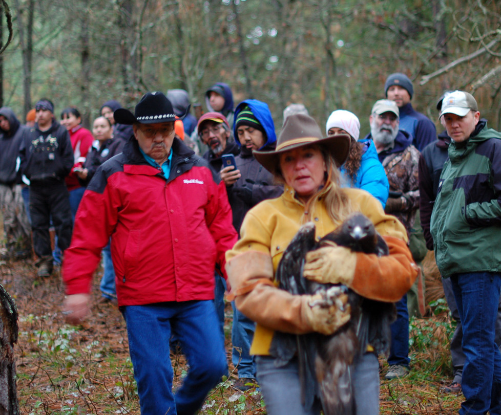 CDA Tribal members and Jane Veltkamp mov