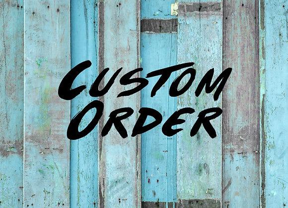 Custom Sign 13cm x 20cm