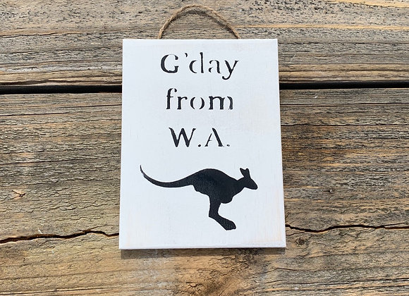 G'day From WA | Made In Australia Products Gifts | Australian Souvenirs