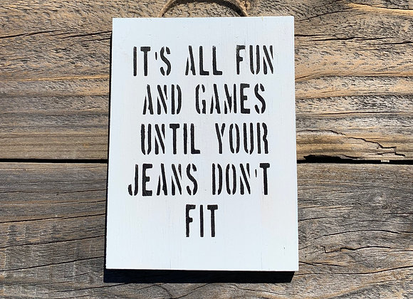 It's All Fun And Games Memes | Diet Quotes Funny | Dieting Memes | Funny Signs