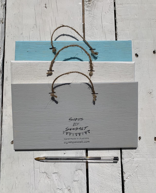 Thumbnail: Custom Sign 13cm x 20cm
