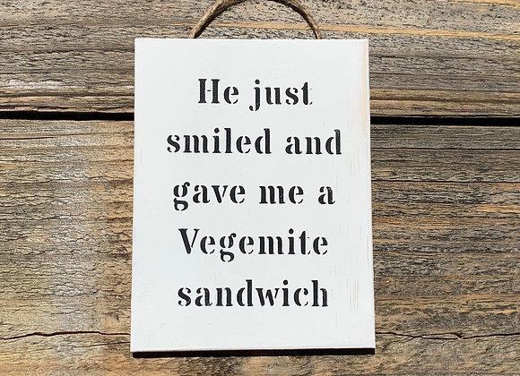 He Just Smiled - Australia Australian Gifts Australian Souvenir Handmade