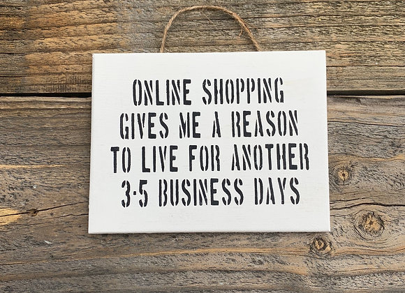 Online Shopping | Funny Shopping Quotes Captions | Funny Signs | Gifts For Her