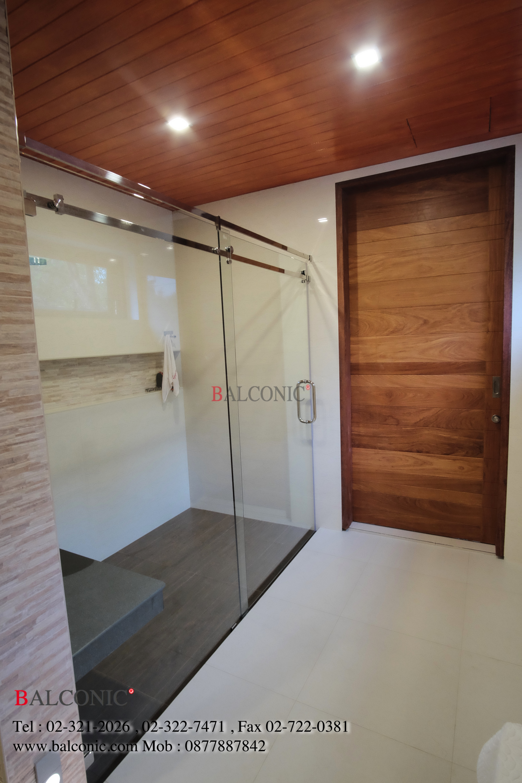 บานชาวเวอร์ ห้องน้ำ Shower A002 บานเลื่อ