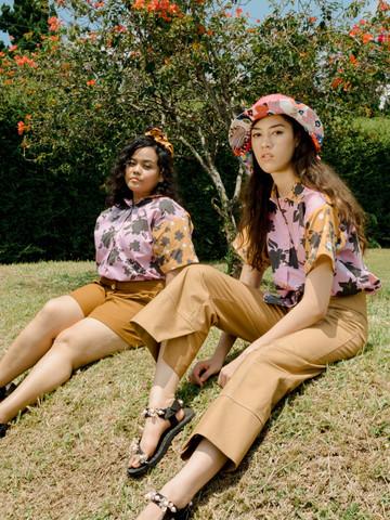 Malia Floral Silhouette Shirt