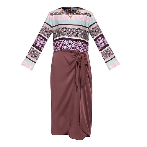 Wulan Long Sleeve Dress