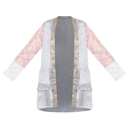 Jacquard Lamé Kebaya Style Outerwear
