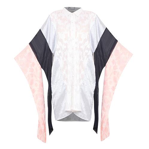 Multicolour Hanging Sleeve Tunic