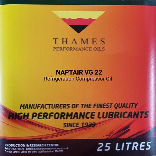 NAPTAIR VG 22 Refrigeration Compressor Oil
