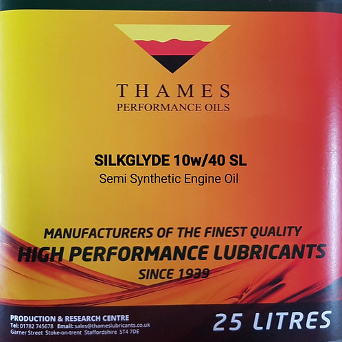 SILKGLYDE 10W/40 Semi-Synthetic Engine Oil