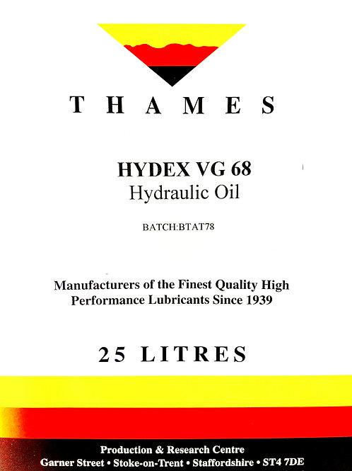 Hydex VG 68 Hydraulic Oil
