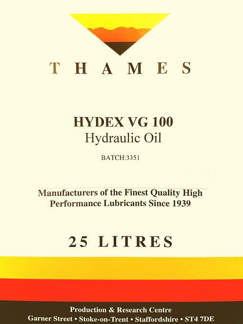 Hydex VG 100 Hydraulic Oil