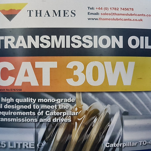 CAT 30 W Transmission Oil TO4