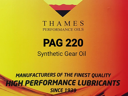 SYNTHETIC PAG 220 Gear Oil