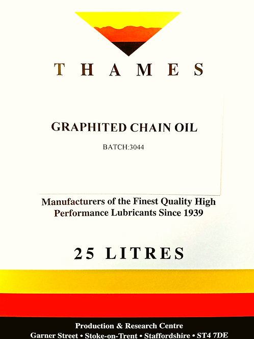 Graphited Chain Oil
