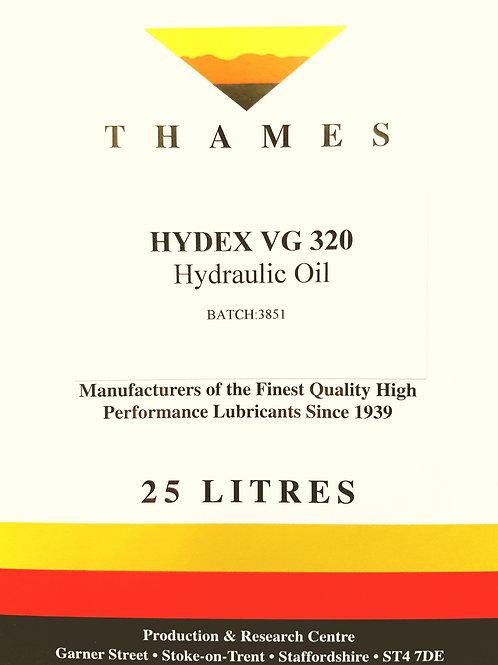 Hydex VG 320 Hydraulic Oil
