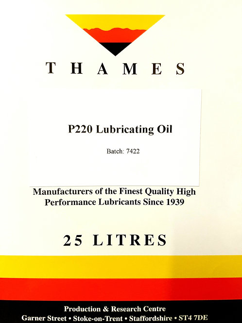 P220 LUBRICATING OIL