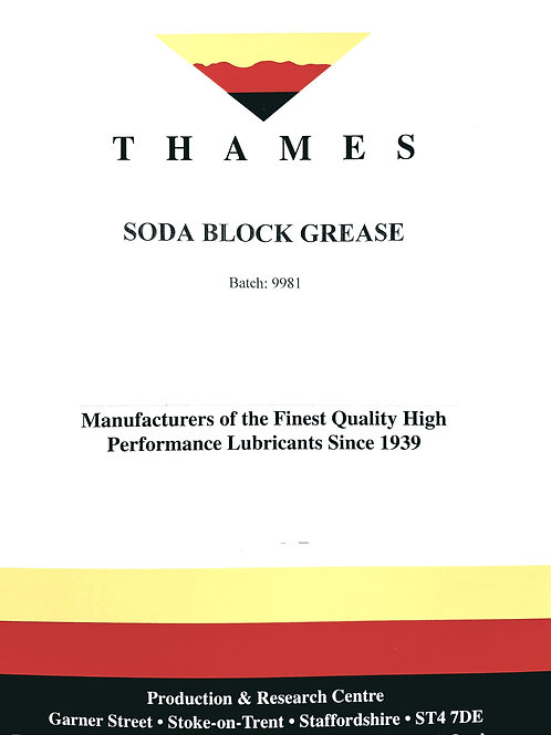 Soda Block Grease