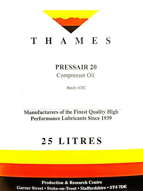 PRESSAIR 20 Compressor Oil