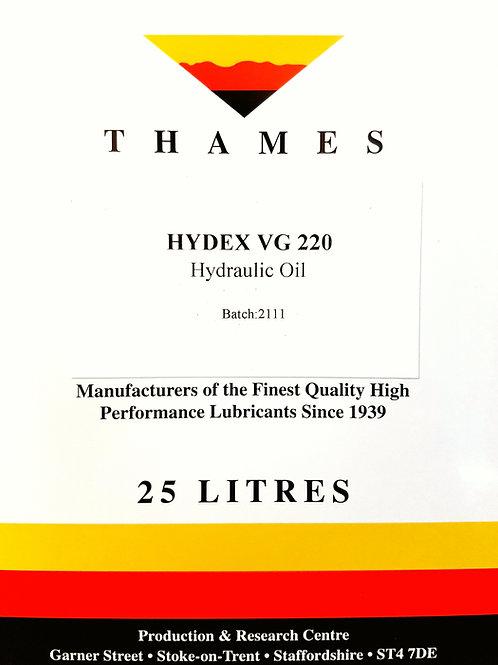 Hydex VG 220 Hydraulic Oil