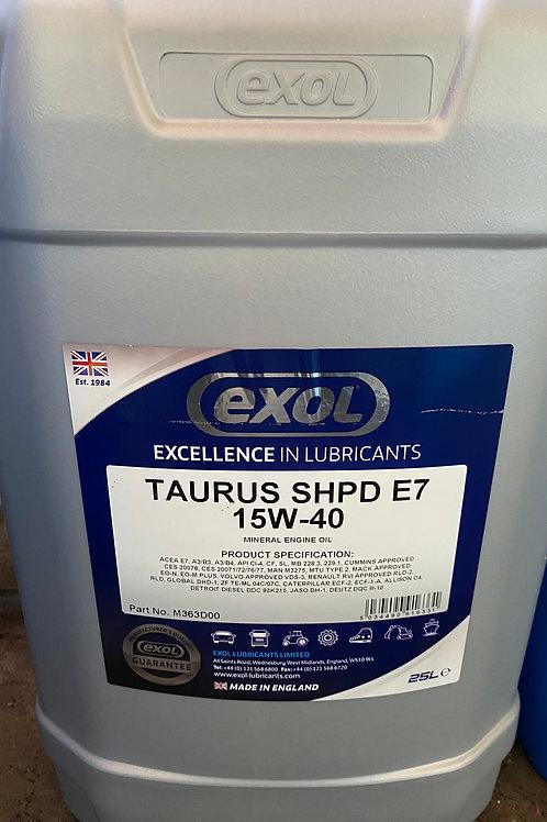 TAURUS SHPD E7 15W-40 (M363)