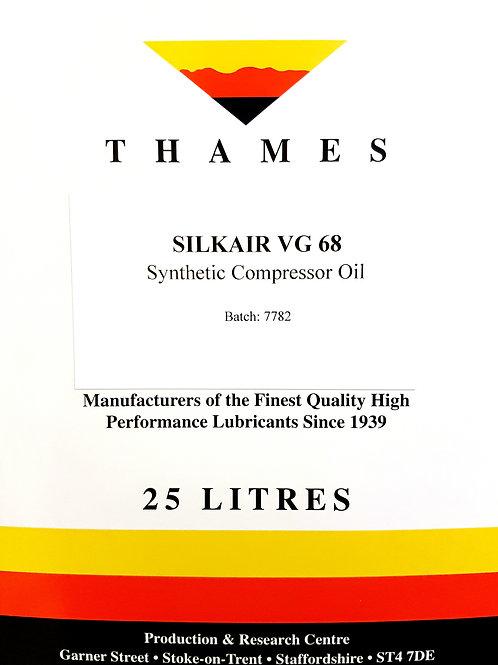 SILKAIR VG 68 Synthetic Compressor Oil