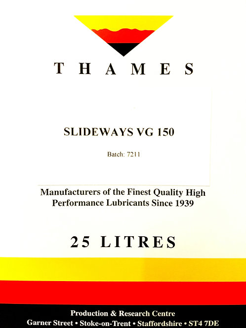 SLIDEWAYS OIL VG 150