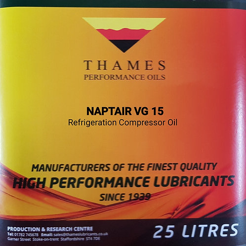 NAPTAIR VG 15 Refrigeration Compressor Oil