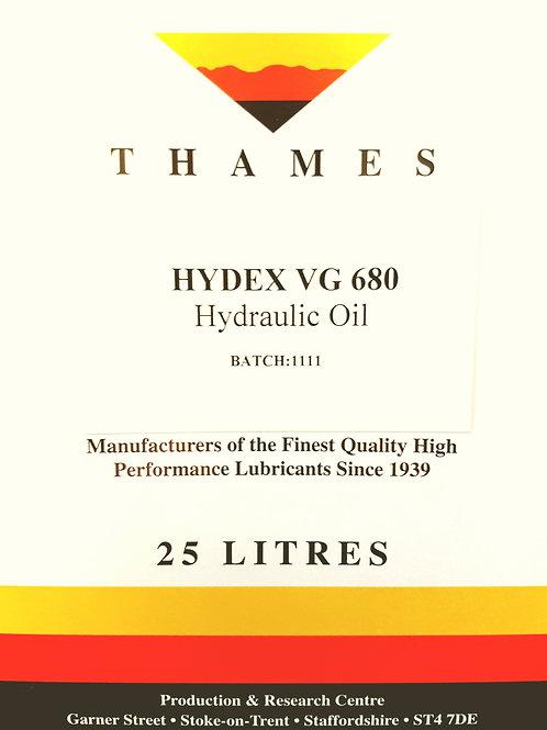 Hydex VG 680 Hydraulic Oil