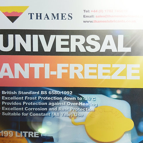 UNIVERSAL ANTIFREEZE BS 6580