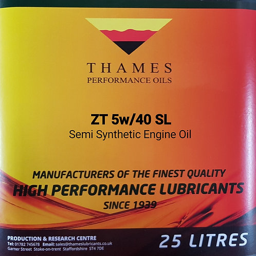 ZT 5W/40 Semi-Synthetic Engine Oil