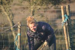 Fixing fences with Romana and Duarte
