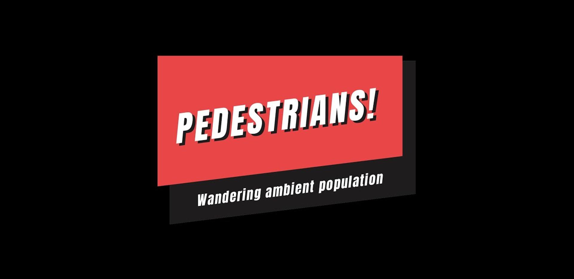 Pedestrians! tutorial